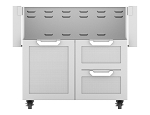 Hestan 36 Inch Door and Drawer Tower Cart
