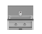 Hestan Aspire 30 Inch Natural Gas Grill, 2 (U) Burner