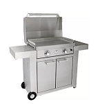 Le Griddle Stainless Steel Griddle and Cart Combo Propane
