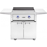 Lynx 30 Inch Asado Flat Top Natural Gas Grill on Cart