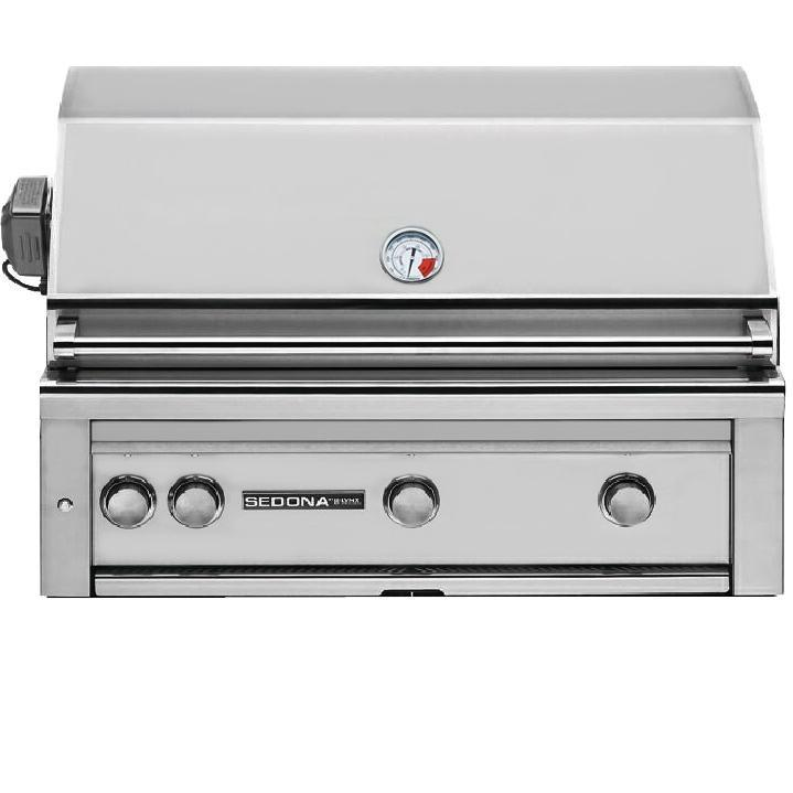 Lynx Sedona 36 Inch Natural Gas Grill with ProSear Burner and Rotisserie