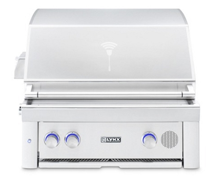 Lynx 30 Inch Built In Smart Grill - Natural Gas