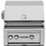 Lynx Sedona 24 Inch Natural Gas Grill w/ Rotisserie - 2 SS Tube Burners