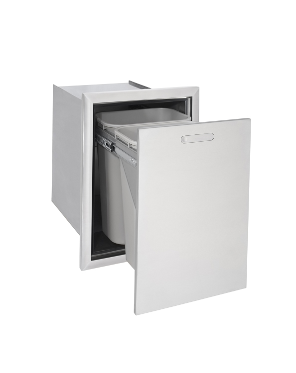 Lynx Ventana Series 18 Inch Trash and Recycle Bin