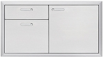 Lynx Ventana Series 42 Inch Door and Drawer Combo