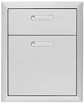 Lynx Ventana Series 16 Inch Double Drawer
