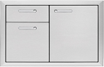 Lynx Ventana Series 36 Inch Door and Drawer Combo
