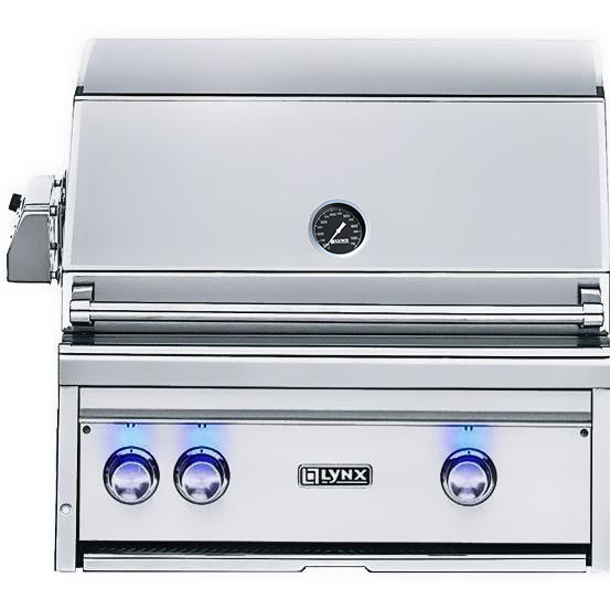 Lynx 27 Inch Professional Propane Gas Grill with Rotisserie