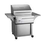 Memphis Advantage Plus 430 Stainless Steel WiFi Enabled Pellet Grill on Cart