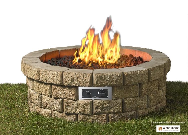 - Hudson Stone Fire Pit Kit