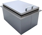 BBQ Island 15  x 24 Inch Drop In Cooler - 260 Series