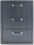 BBQ Island Triple Storage Drawer - 260 Series