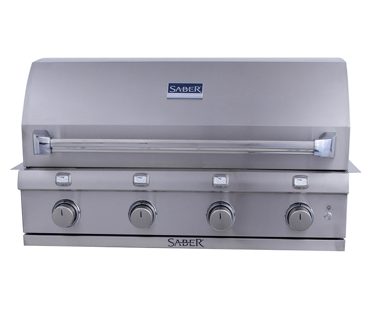 Saber 670 Natural Gas Built-In Grill
