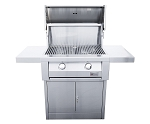 Summerset 32 Inch Builders Model Propane Gas Grill on Cart