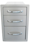 Sunstone 14 Inch Flush Triple Access Drawer