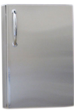Sunstone 15 x 21 Vertical Access Door with shelves