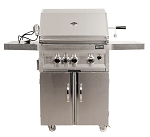 Sunstone 3 Burner 28 Inch Propane Grill - On Cart