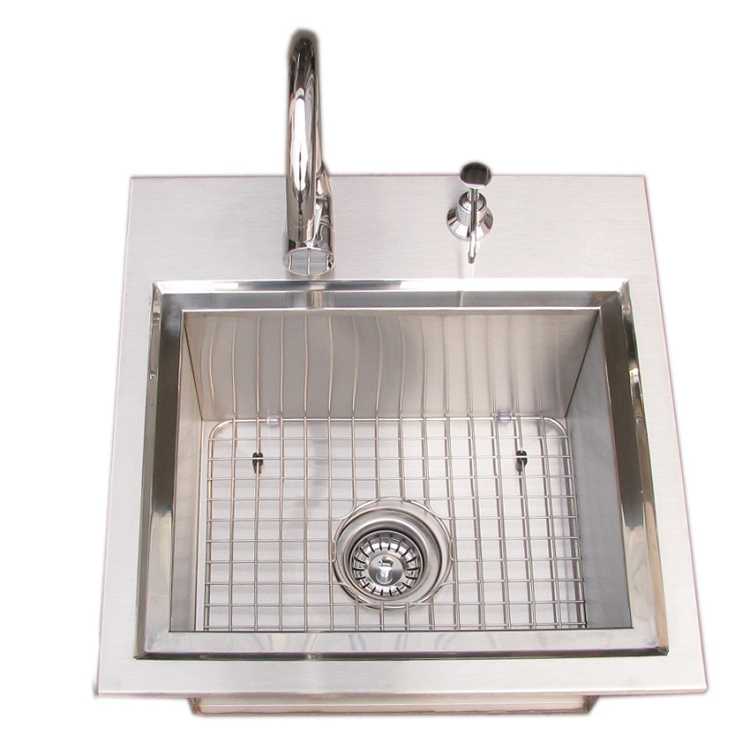 Sunstone Premium Drop In Sink With Hot And Cold Faucet
