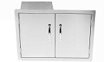 Sunstone Flush Double Door / Propane Tank Holder & Dual Drawers