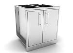 Sunstone 30 Inch Weather Sealed Dry Storage Pantry with Multi-Drawers and Shelves