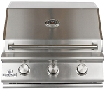 Sure Flame 26 Inch Deluxe 3 Burner Natural Gas Grill