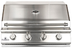 Sure Flame 32 Inch Deluxe 4 Burner Natural Gas Grill