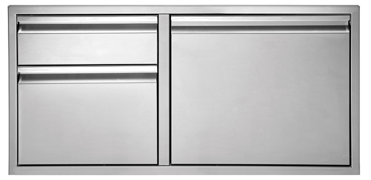Twin Eagles 36 Inch 2 Drawer Door Combo