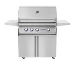 Twin Eagles 36 Inch Propane Grill with Rotisserie and Sear Zone on Cart