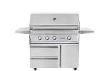 Twin Eagles 42 Inch Propane Grill with Rotisserie on Cart