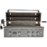 Sole 38 Inch Grill with Lights and Rotisserie - LP