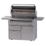 Alfresco 42-inch Grill with Sear Zone on Deluxe Cart - LP