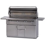 Alfresco 56-inch Standard All Grill on Cart - LP