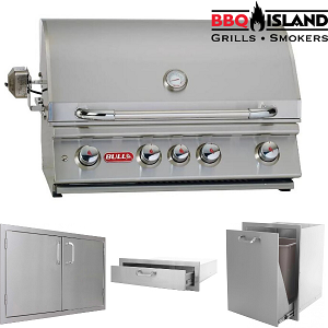 Bull Outdoor Angus BBQ Grill and Accessories Package - Natural Gas
