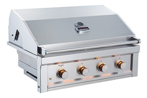 Sunstone Ruby Series 4 Burner Pro-Sear 36