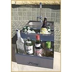Alfresco 14-inch Built-In Bartender with Sink
