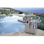 Alfresco 30-inch Bartender with Sink on Cart