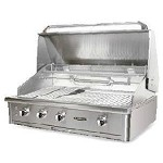 Capital Precision Series 40 Inch Propane Grill with Rotisserie