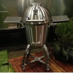 Caliber Thermashell Pro Stainless Charcoal Grill w/ Stainless Steel Handle