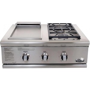 DCS 30 Inch Series 7 Double Side Burner/ Griddle Propane