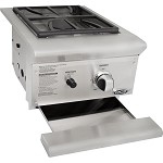 DCS 13 Inch Built In Propane Single Side Burner