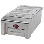 Cal Flame 12 Inch Drop In Food Warmer