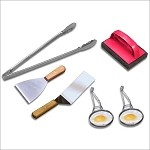Griddle Q Cooking & Cleaning Kit