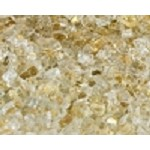 Gold Reflective Fire Glass 1/4 Inch - 10 lbs