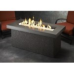 Key Largo Fire Pit Table - Midnight Mist Top