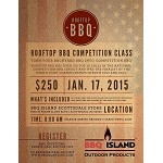 Rooftop BBQ Competition Class