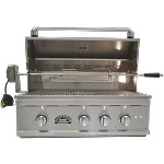 Sole 32 Inch Grill with Lights and Rotisserie - NG