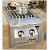 ALSB-2 built-in dual side burner