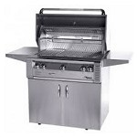 Alfresco 36-inch ALX2 SearZone Natural Gas Grill on Cart