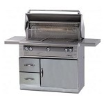 Alfresco 42-inch Grill on Refrigerated Base - LP