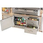 Alfresco 42-inch Built-In Refrigerator